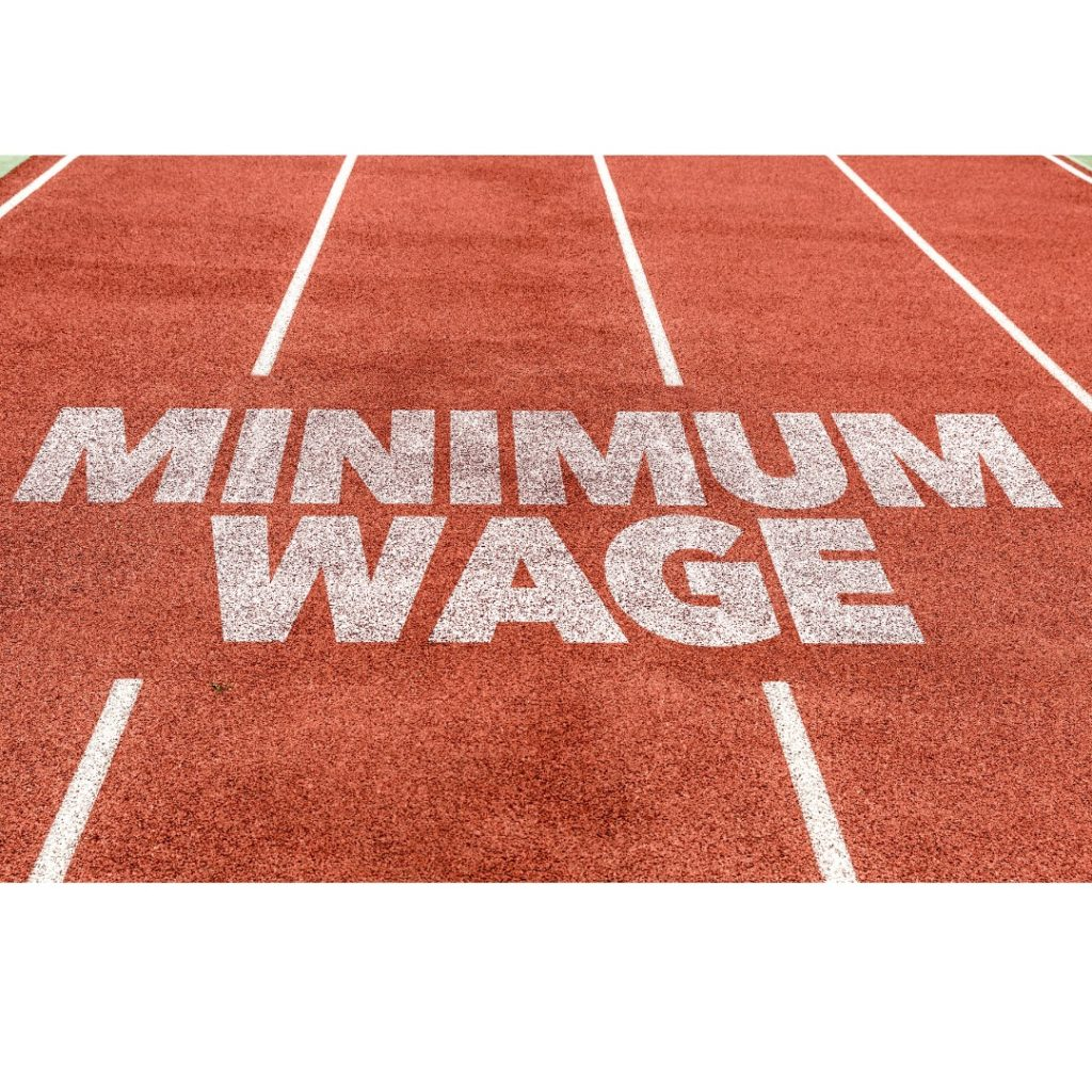 Check out the attached for more information on minimum wage updates and rates.