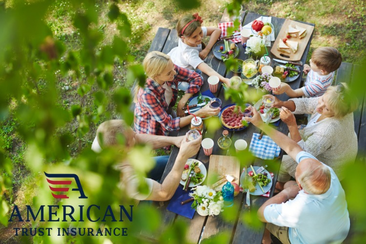 Spending your summer outdoors with good food and friends is exactly how you want to remember these cherished times. You can make your next gathering memorable and safe with these guidelines.
